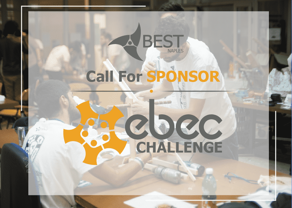 EBEC Challenge NAPOLI 2017/18 – CALL FOR SPONSORS
